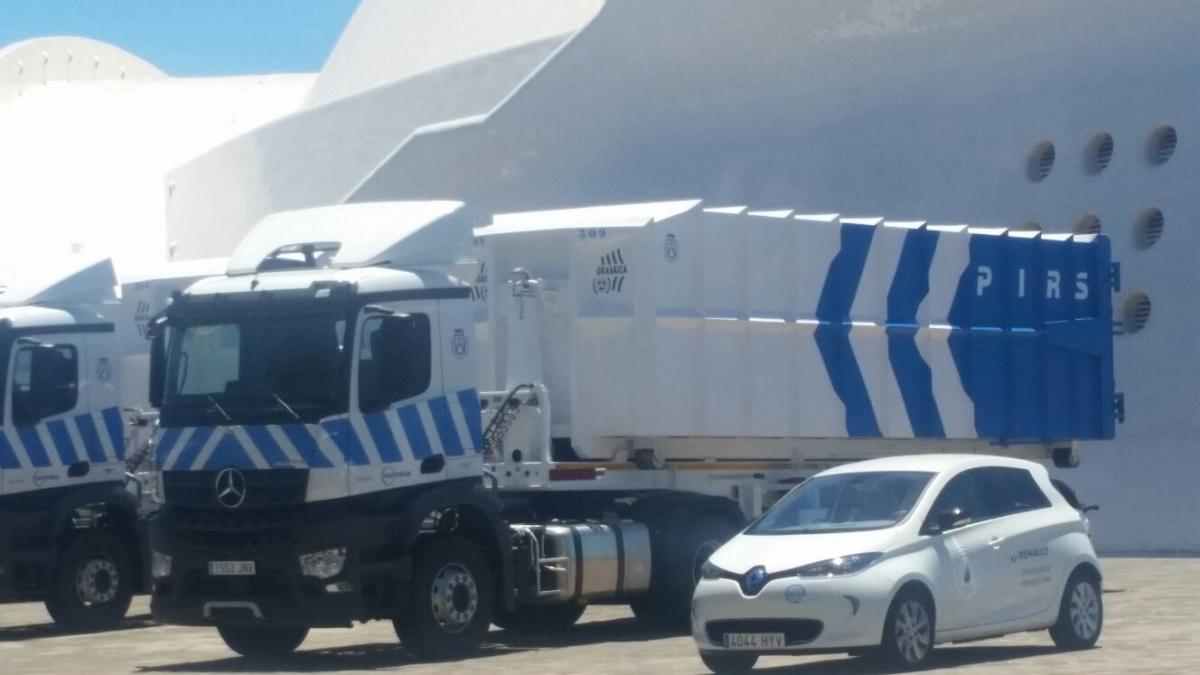 Camion compactador